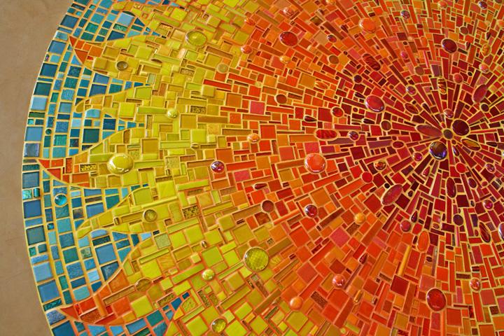 Mosaics ornamental elements for Mosaic art pictures